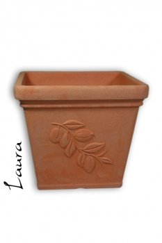 Pflanzkübel Laura terracotta